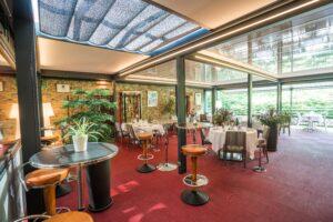 Le Cheverny Pergola Terrasse du restaurant